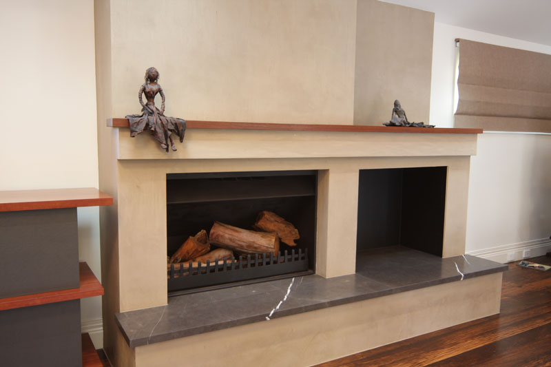 Fireplaces pm r construction and project management for New construction fireplace